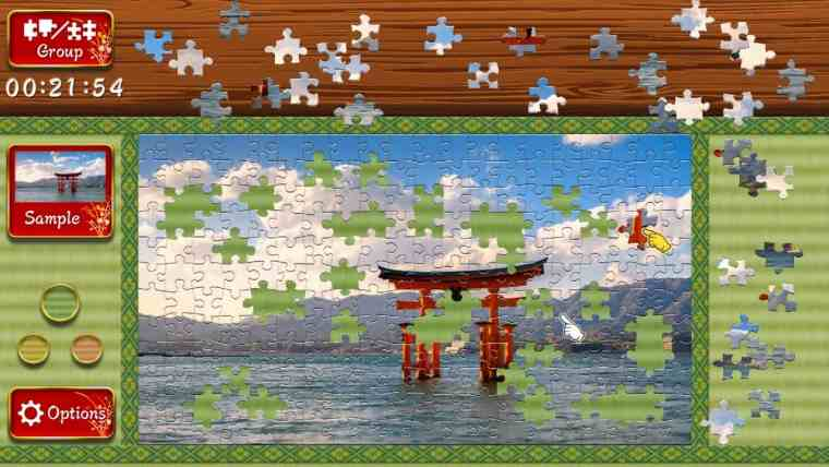 Animated Jigsaws: Beautiful Japanese Scenery Review Screenshot 2