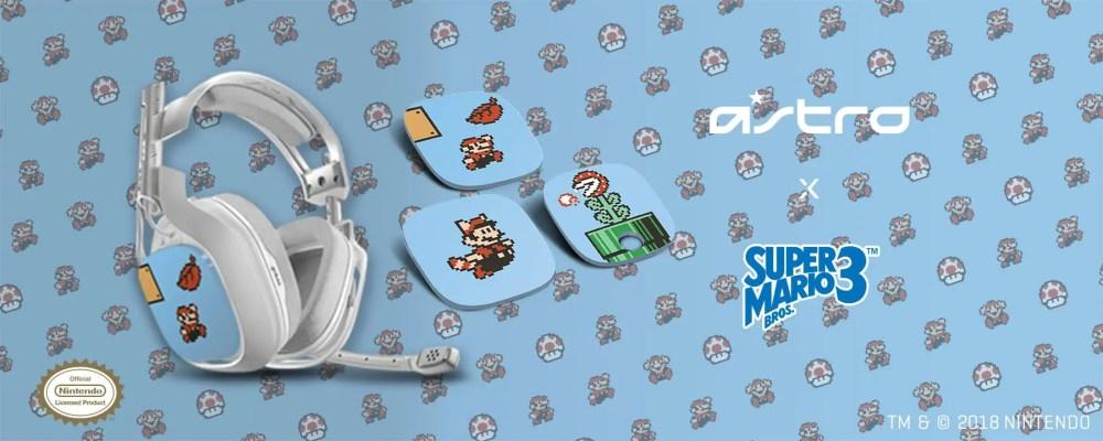 Astro Gaming Super Mario Bros. 3 Headset