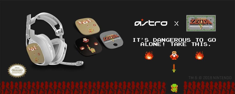 Astro Gaming Zelda Headset