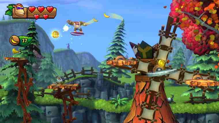 Donkey Kong Country: Tropical Freeze Review Screenshot 3