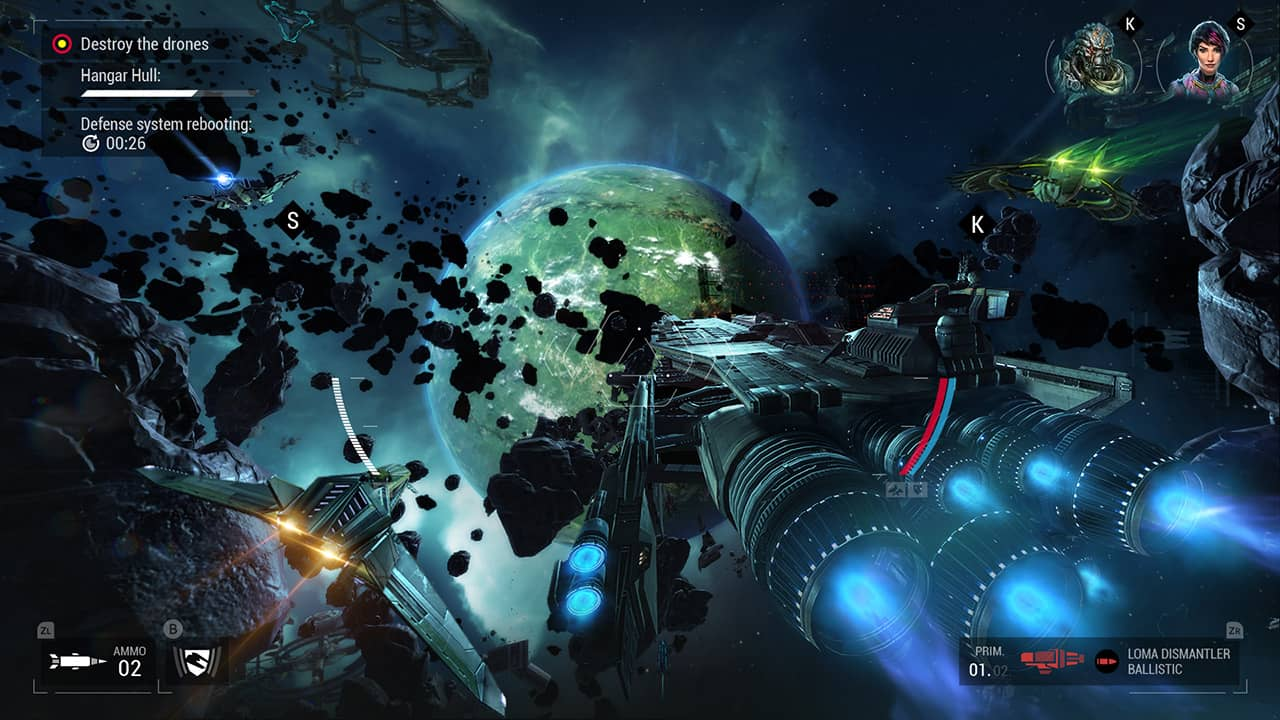 Manticore: Galaxy On Fire Review Screenshot 1