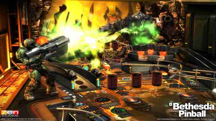Pinball FX3: Bethesda Pinball Review Screenshot 1