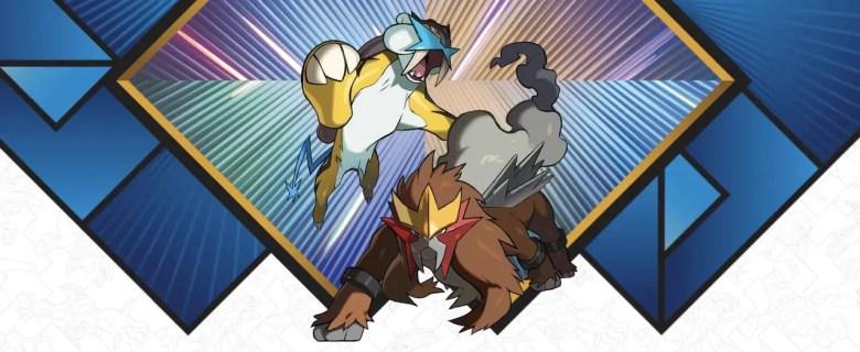 Raikou Entei Legendary Pokemon Distribution