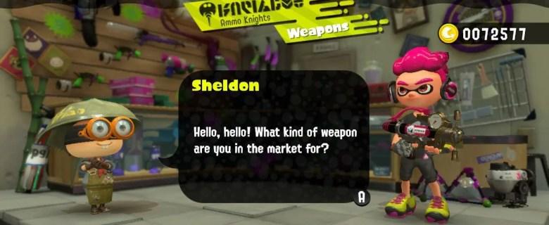 Splatoon 2 Sheldon Ammo Knights