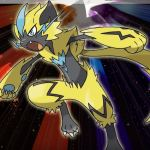 Zeraora Artwork