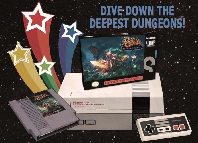 Battle Chasers: Nightwar NES Copy