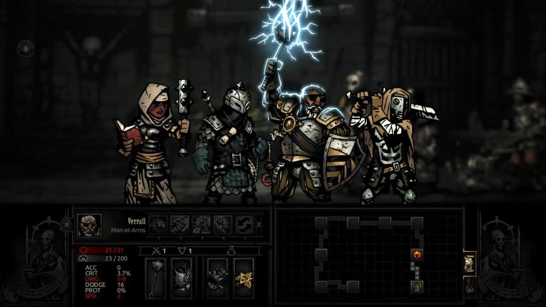 Darkest Dungeon Review Screenshot 1