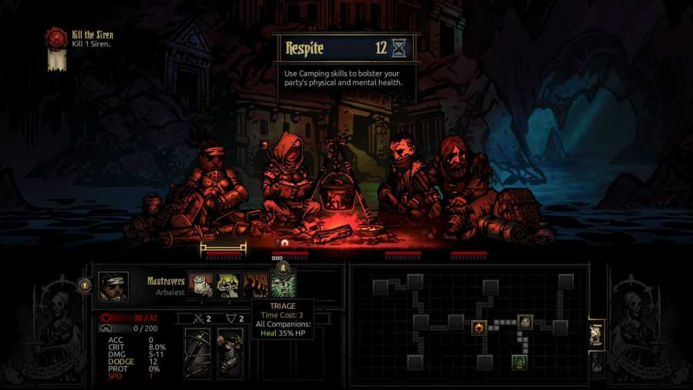 Darkest Dungeon Review Screenshot 2