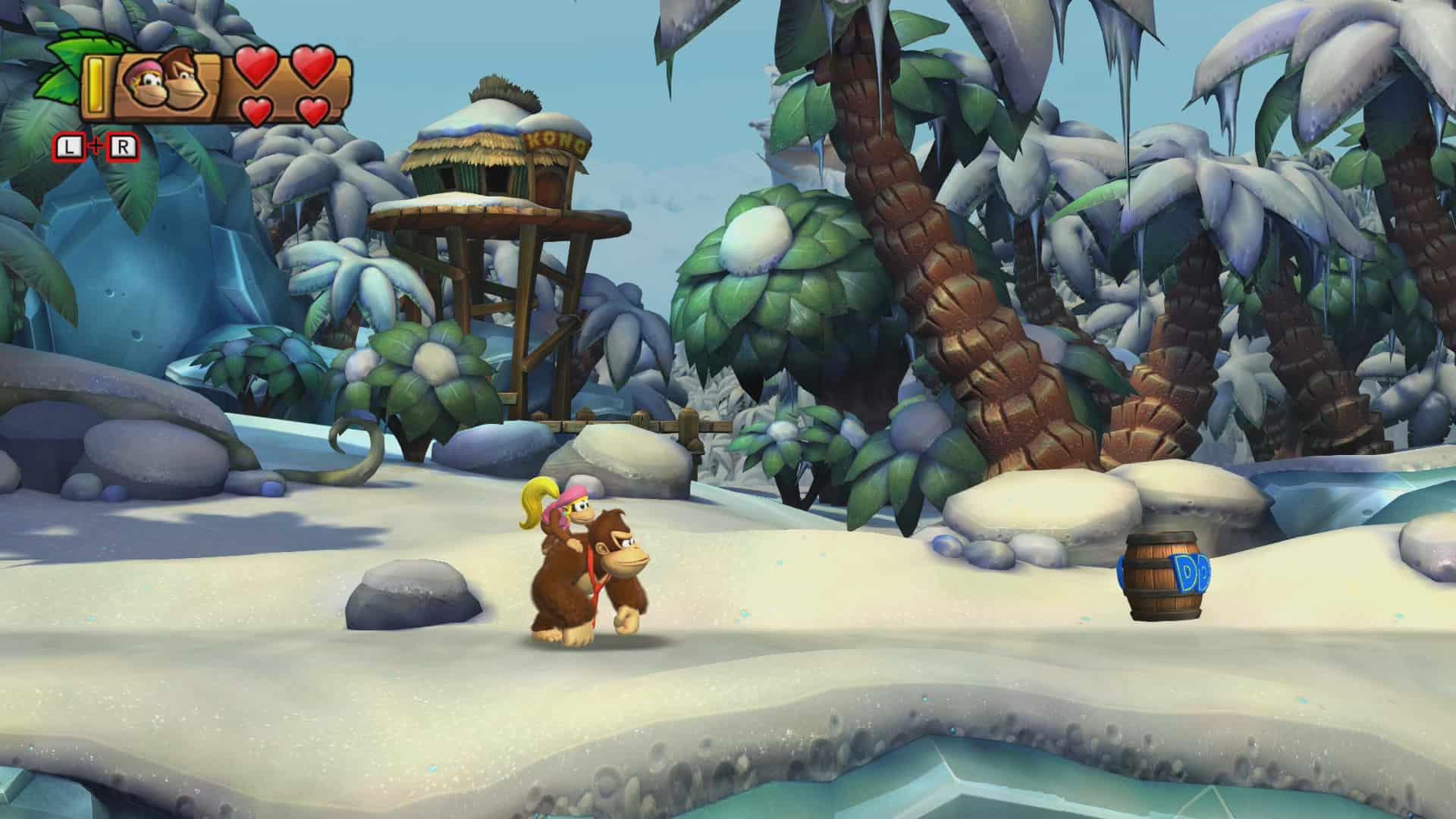 Donkey Kong Country: Tropical Freeze 6-1 Homecoming Hijinx Screenshot