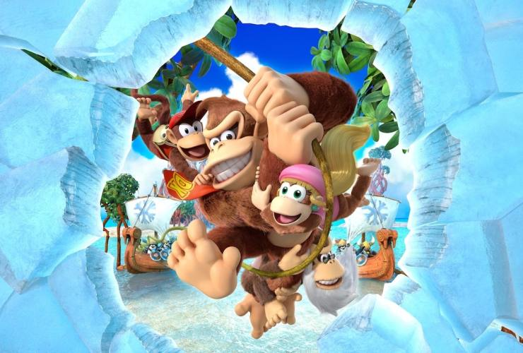 Donkey Kong Country: Tropical Freeze Review Header