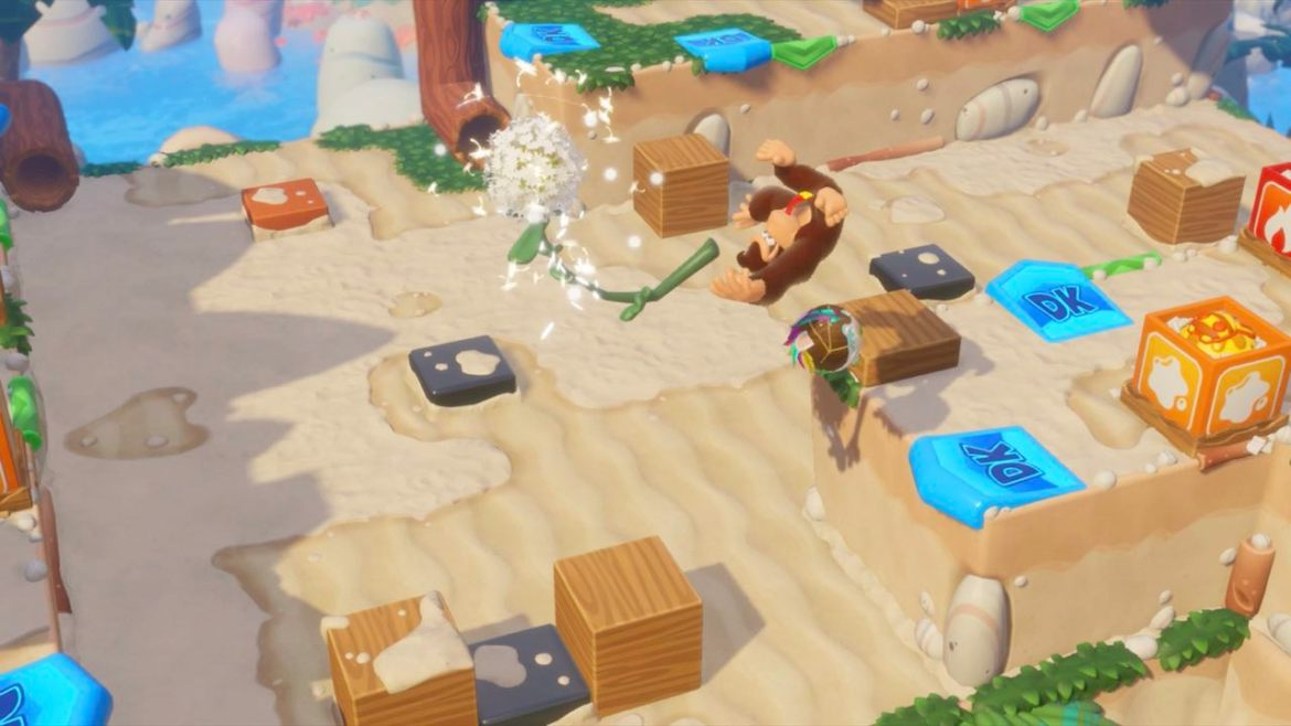 Mario + Rabbids Kingdom Battle: Donkey Kong Adventure Preview Screenshot 2