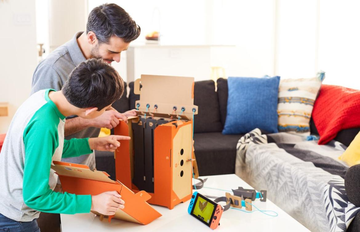 Nintendo Labo Toy-Con 02: Robot Kit Review Screenshot 2