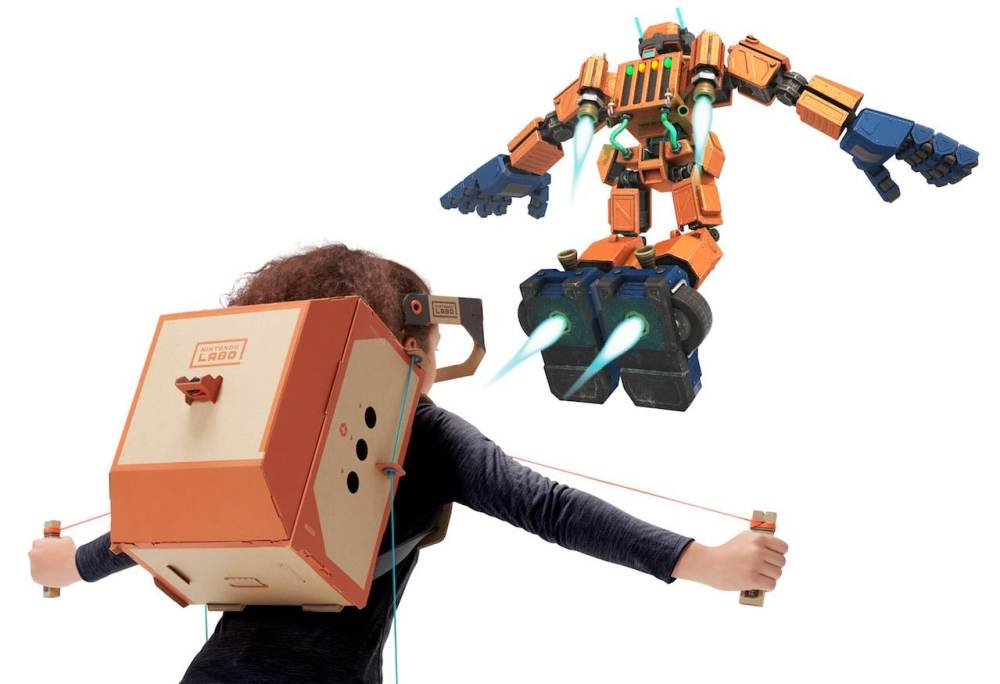 Nintendo Labo Toy-Con 02: Robot Kit Review Screenshot 3