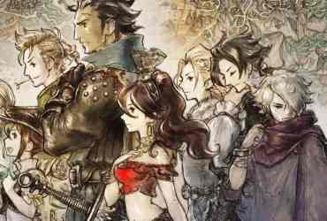 Octopath Traveler Box Artwork