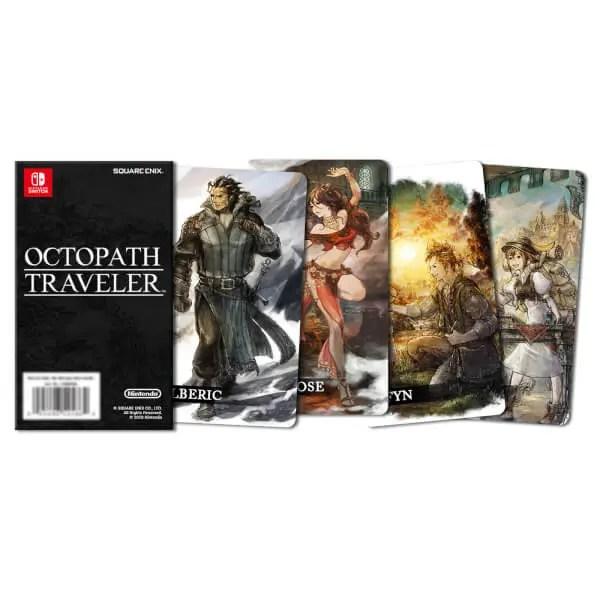 Octopath Traveler Collectable Cards