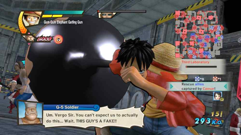 One Piece: Pirate Warriors 3 Deluxe Edition Review Screenshot 2