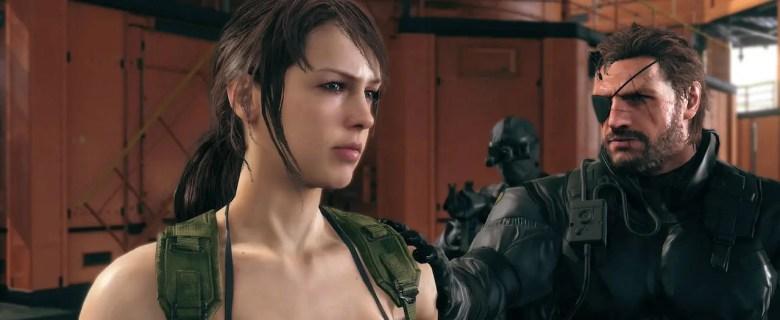 Quiet Metal Gear Solid 5 Screenshot