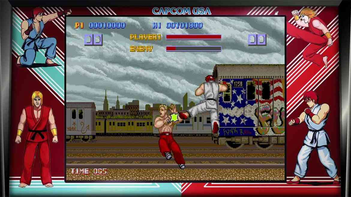 Street Fighter 30th Anniversary Collection Review Screenshot 1