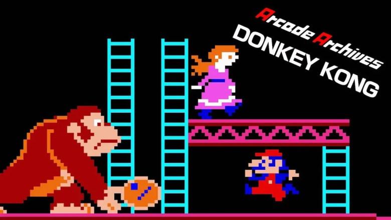 Arcade Archives Donkey Kong Artwork