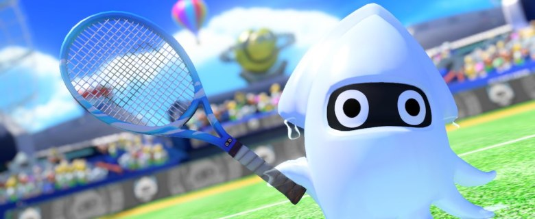 Blooper Mario Tennis Aces Screenshot