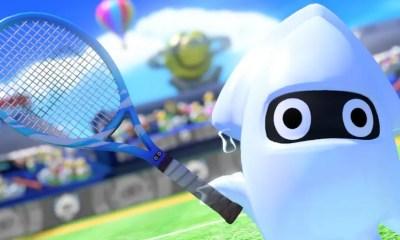 Blooper Mario Tennis Aces Screenshot