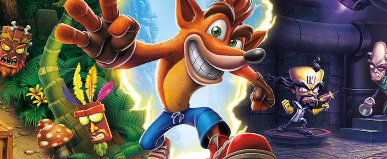 Crash Bandicoot N. Sane Trilogy Review Header
