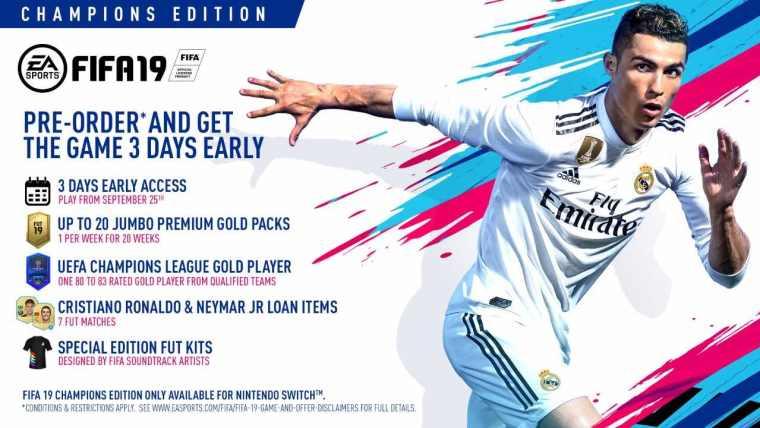 FIFA 19 Champions Edition Image
