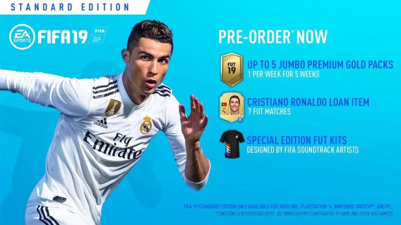 FIFA 19 Standard Edition Image