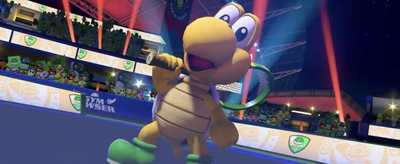 Koopa Troopa Mario Tennis Aces Screenshot