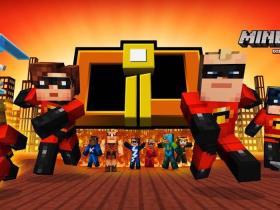 Minecraft The Incredibles Skin Pack