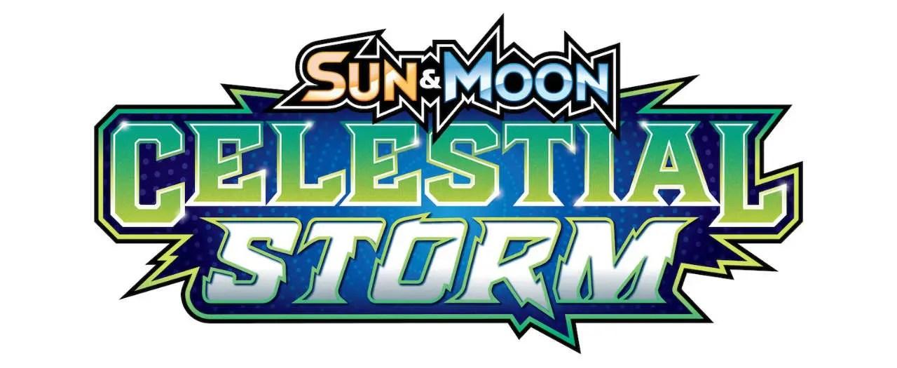 Pokémon TCG Sun And Moon - Celestial Storm Logo