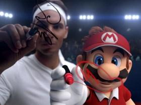 Rafael Nadal Mario Tennis Aces Screenshot
