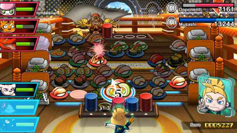 Sushi Striker: The Way Of Sushido Review Screenshot 3