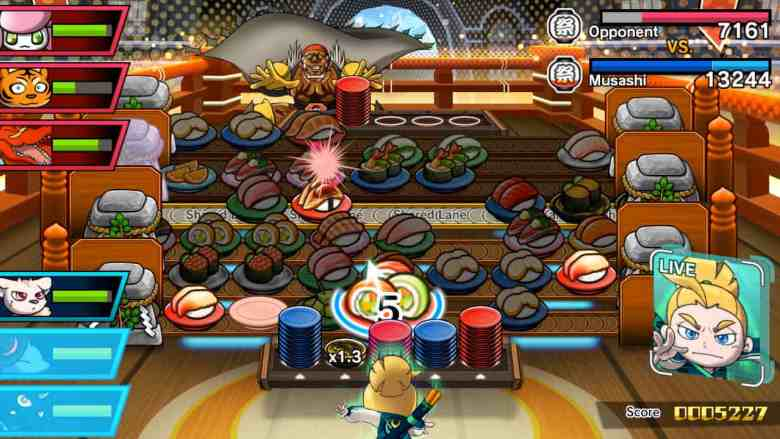 Sushi Striker: The Way Of Sushido Review Screenshot 3
