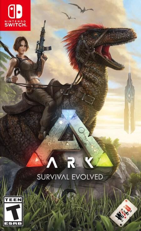 ARK: Survival Evolved Switch Box Art