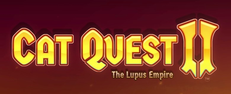 Cat Quest II: The Lupus Empire Logo