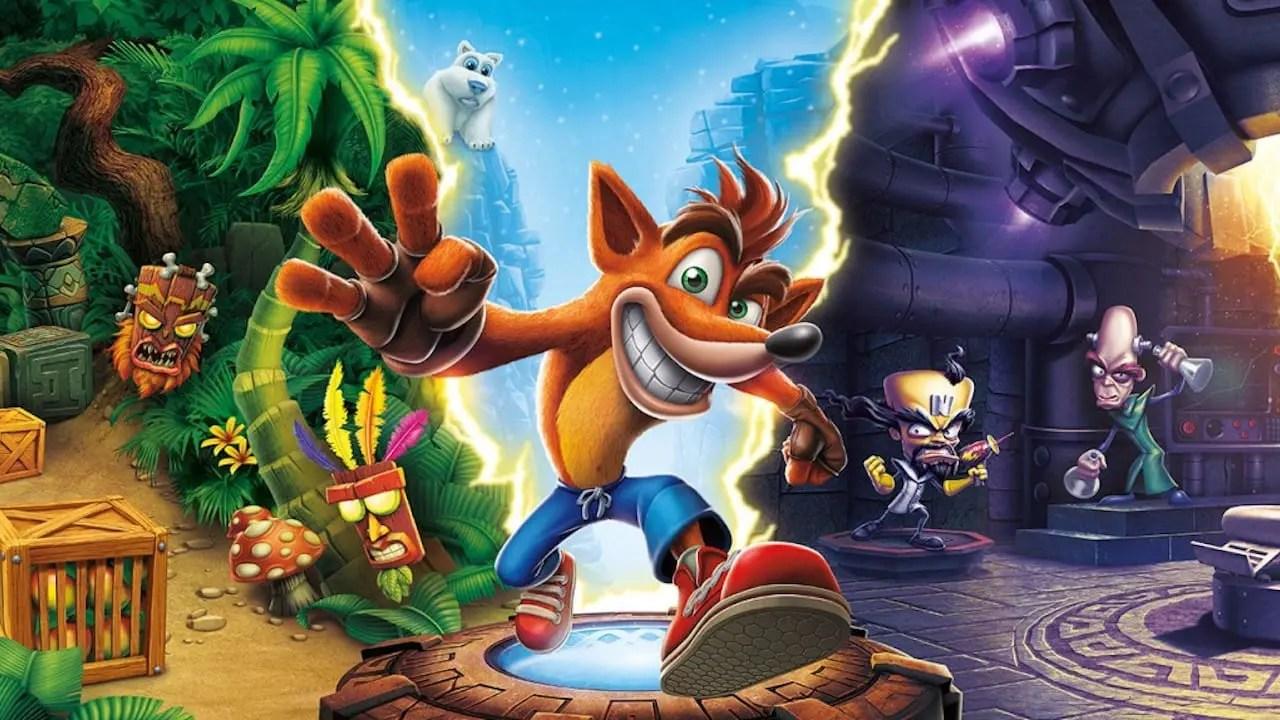 Crash Bandicoot N. Sane Trilogy Review Header