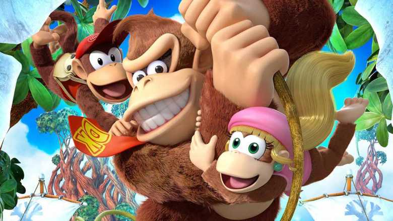 Donkey Kong Country: Tropical Freeze Main Artwork