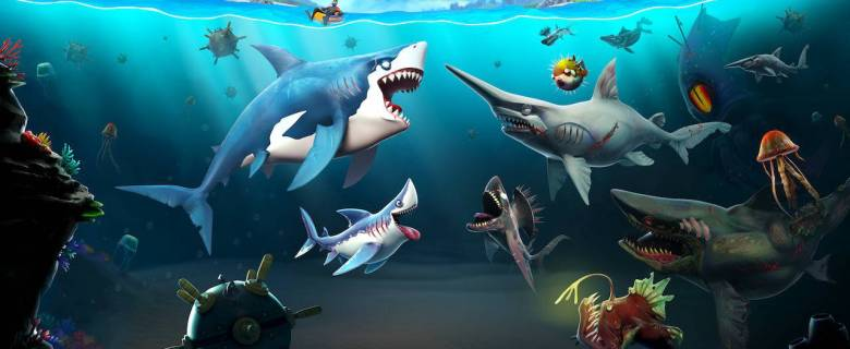 Hungry Shark World Review Header