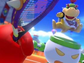 Mario Tennis Aces Bowser Jr. Screenshot
