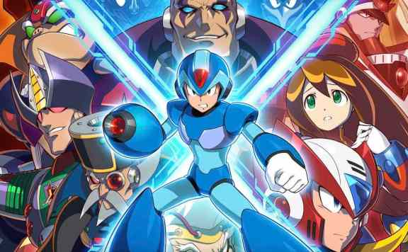 Mega Man X Legacy Collection Header
