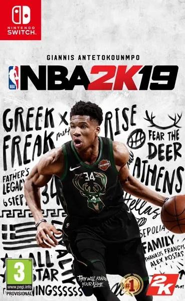 NBA 2K19 Switch Box Art