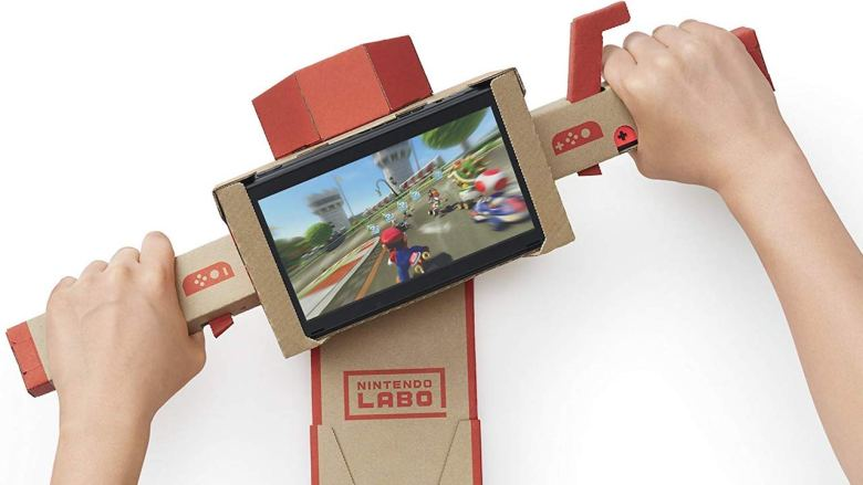 Nintendo Labo Toy-Con Motorbike Photo