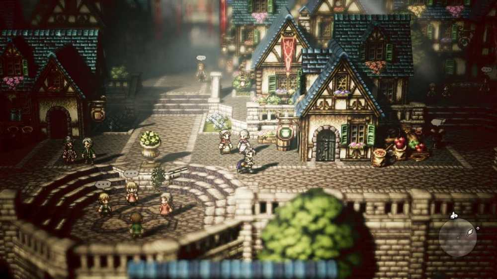 Octopath Traveler Review Screenshot 1
