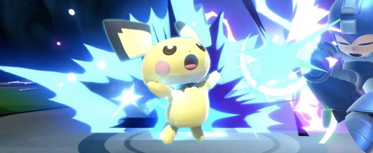 Pichu Super Smash Bros. Ultimate Screenshot