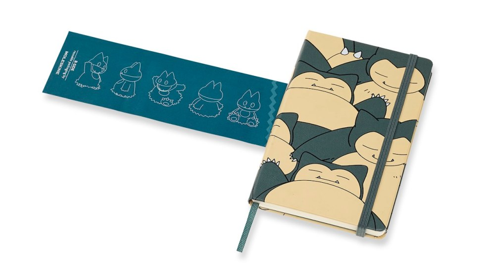 Pokémon Limited Edition Ruled Notebook: Snorlax Photo