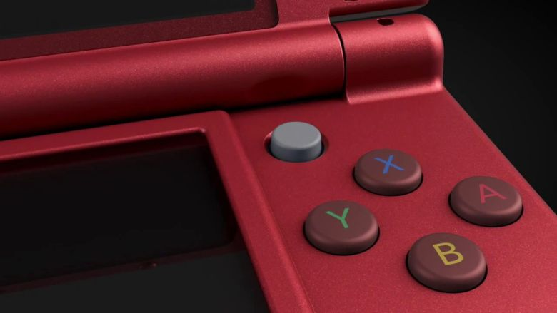 Red New Nintendo 3DS XL Image