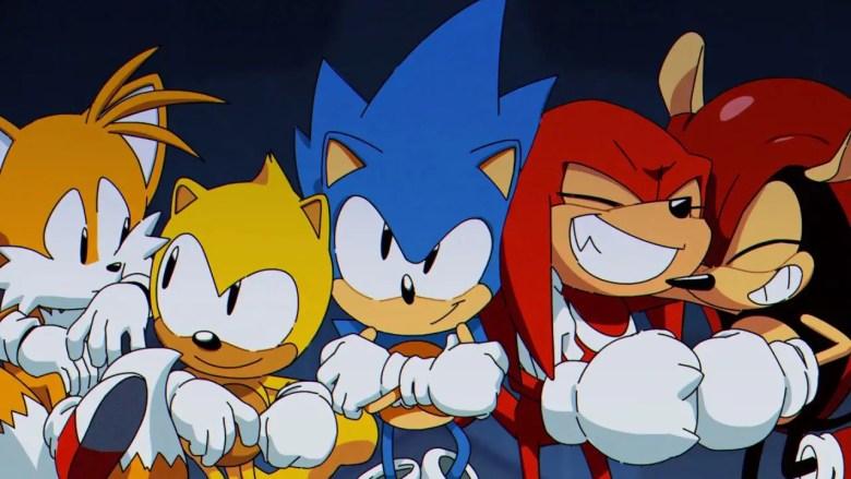 Sonic Mania Plus Intro Screenshot
