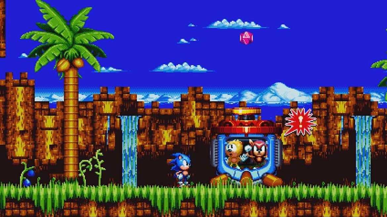 Sonic Mania Plus Review Screenshot 1