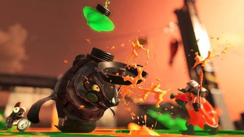 Splatoon 2 Salmon Run Screenshot
